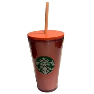 Starbucks 2019 Lenticular Pink  16 oz with Straw
